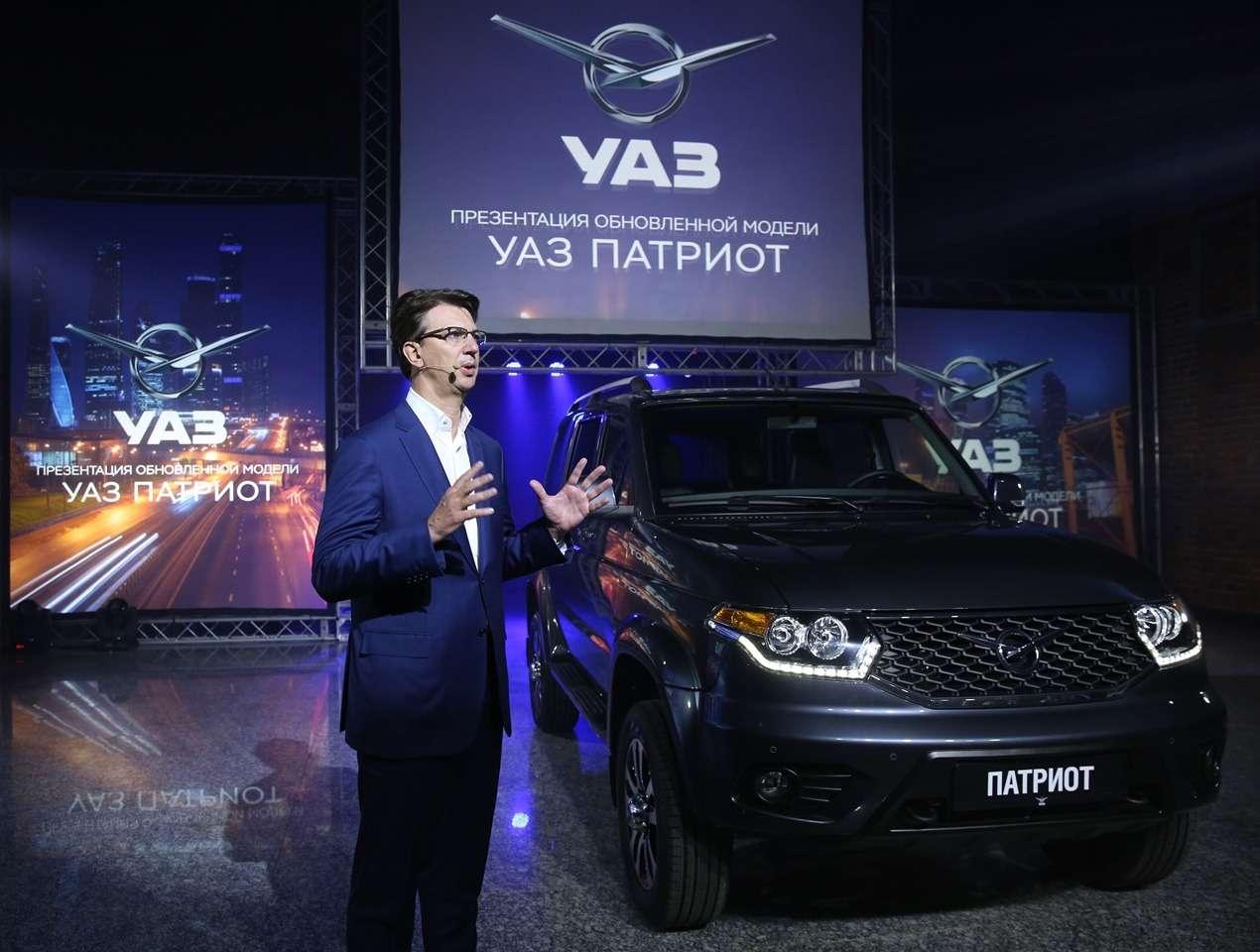 Обновленный УАЗ Патриот нацелился наэкспорт— фото 648326