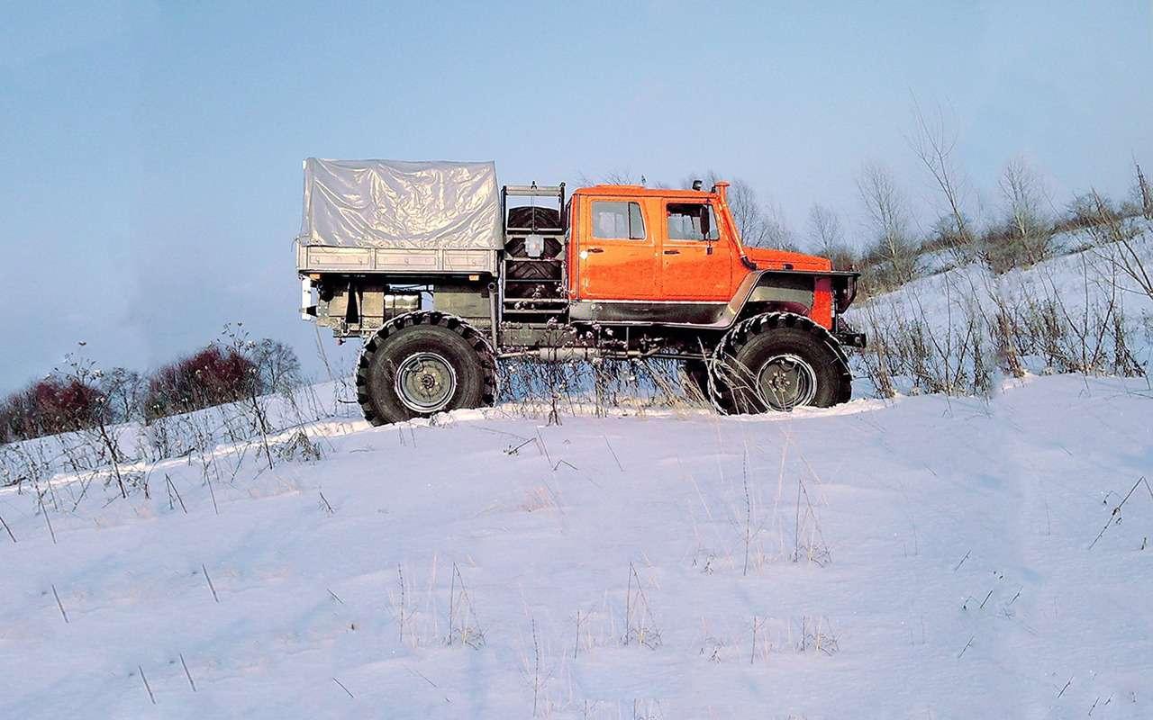15крутых вездеходов набазе автомобилей ГАЗ— фото 914644