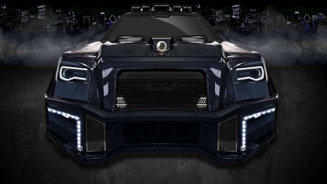 Черный аллигатор: непугайтесь, это Mercedes-AMG