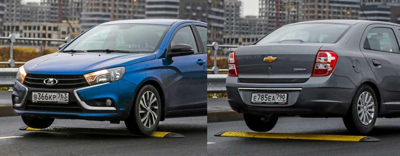 Chevrolet Cobalt иВеста— все расходы натри года вперед!— фото 1224526