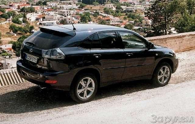 Lexus RX400h. Электросила— фото 57041