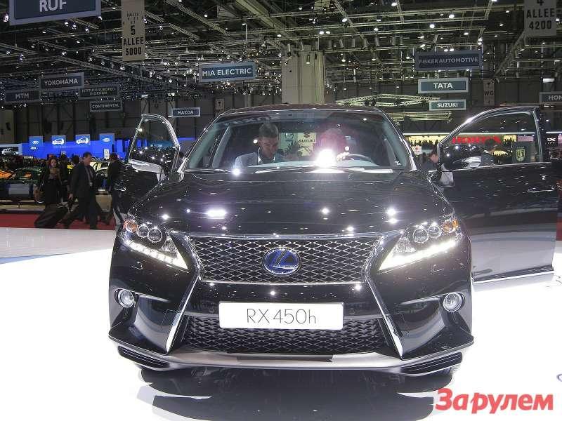 Lexus_RX_front