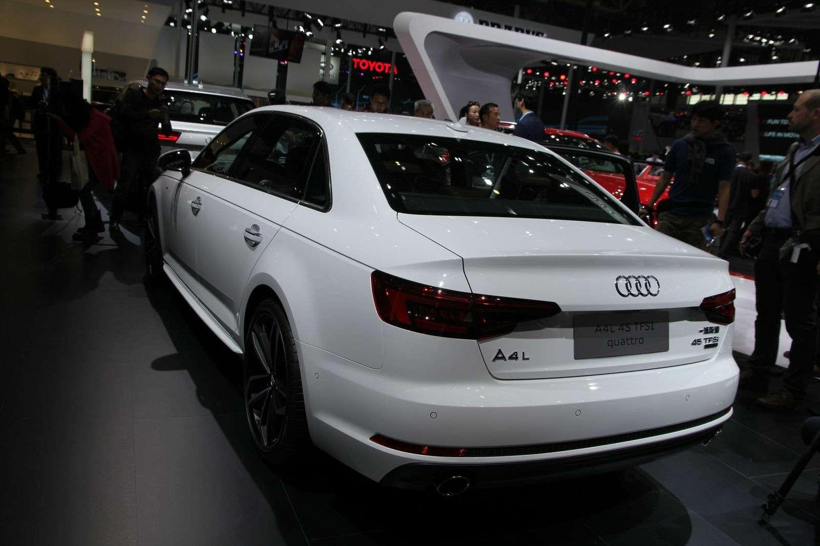 Audi A4L: немецкая щедрость вобмен наюани— фото 580290