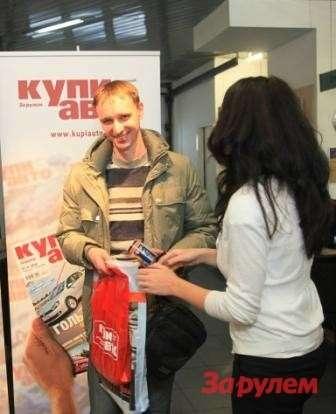 Сергей Хартов выиграл автолампы Osram