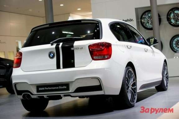 BMW1-series Performance concept rear view