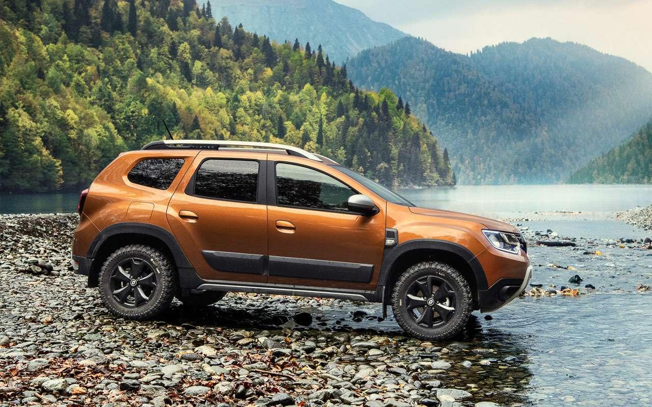 Renault представила новый Duster дляРоссии— фото 1209169