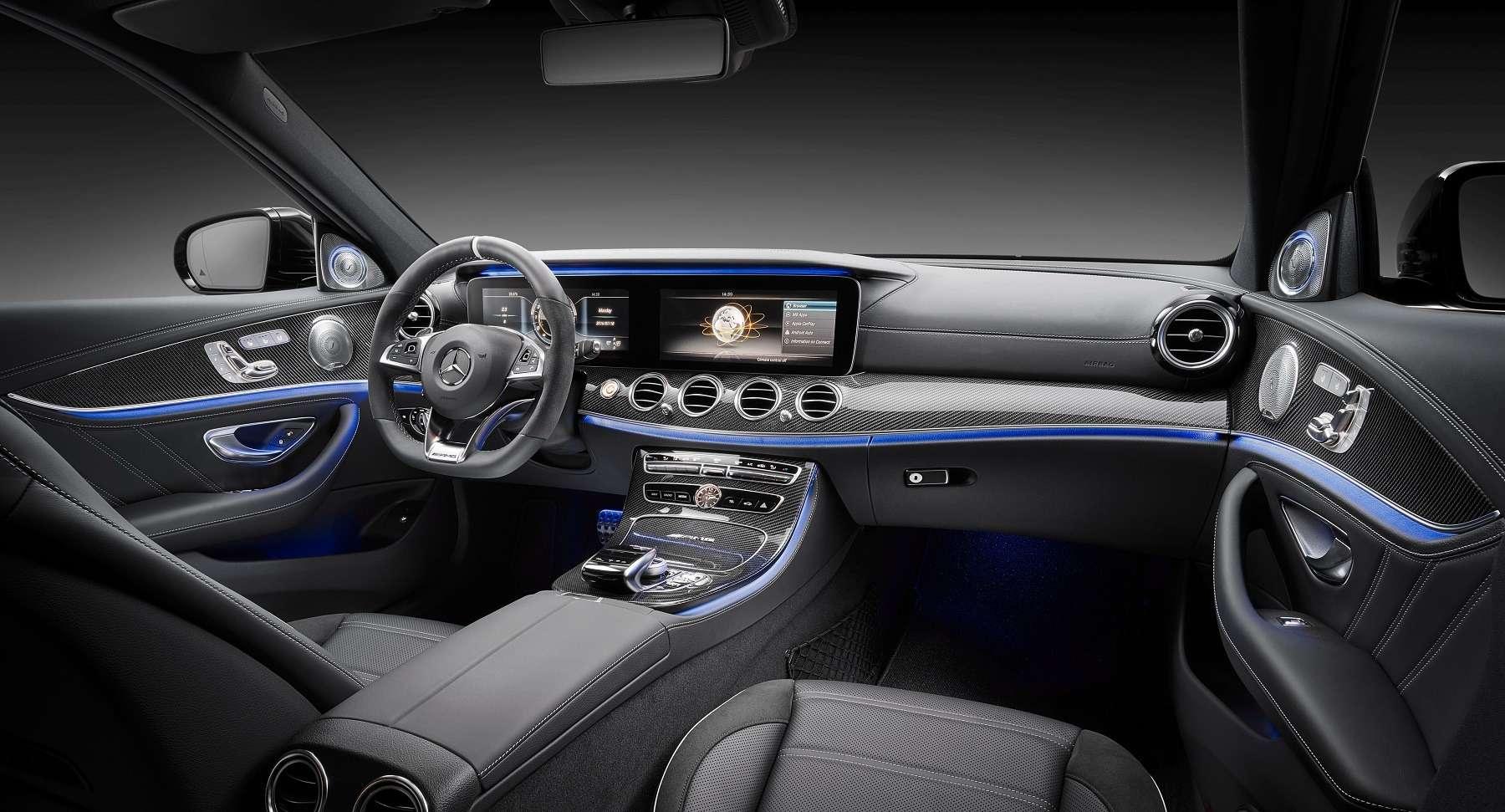 «Волк» нового века: Mercedes-AMG показал суперседан E63нового поколения— фото 654296