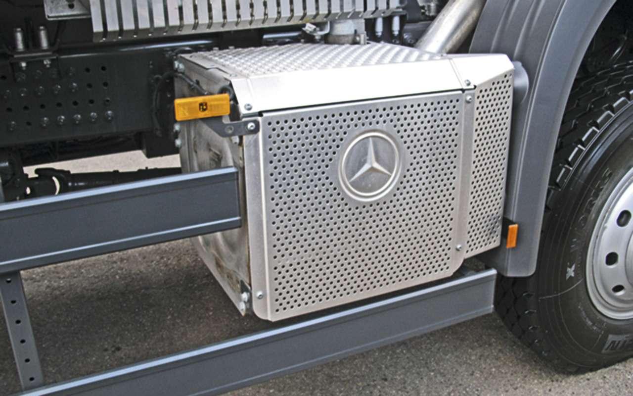 Mercedes Arocs российской сборки— детальный обзор— фото 1279140