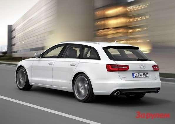 Audi A6Avant/Fahraufnahme