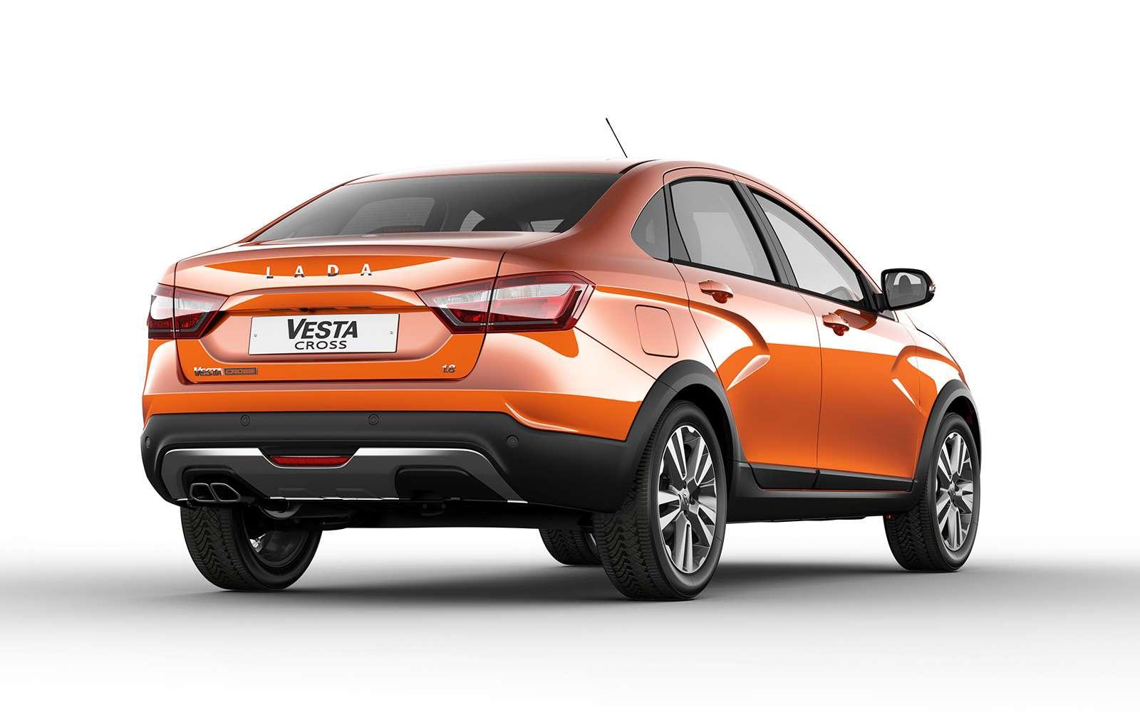 Представлена новая модель Lada. Иэто снова Cross— фото 863329