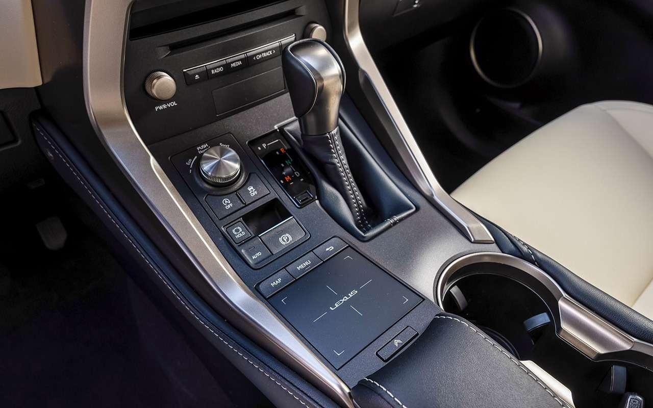 Обновленный Lexus NX: испытание Чертовым мостом— фото 876133