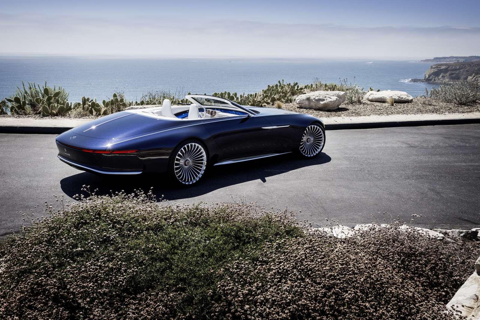 Пикник подкапотом: представлен кабриолет Mercedes-Maybach Vision 6— фото 786186