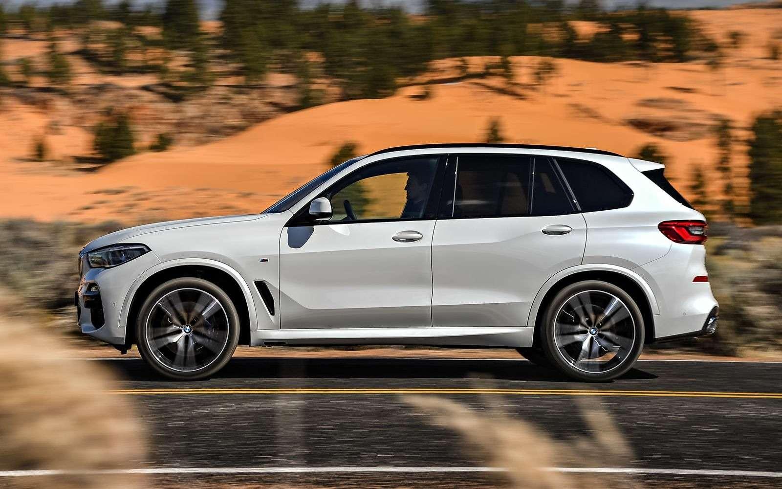 Новый BMW X5: приборная революция!— фото 876635