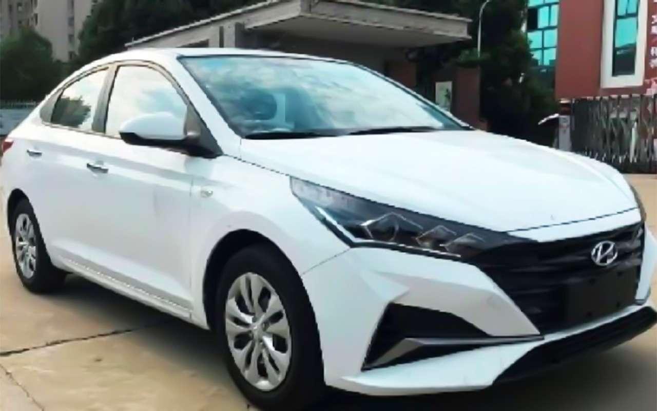 Серьезное обновление Hyundai Solaris: первые фото— фото 986697