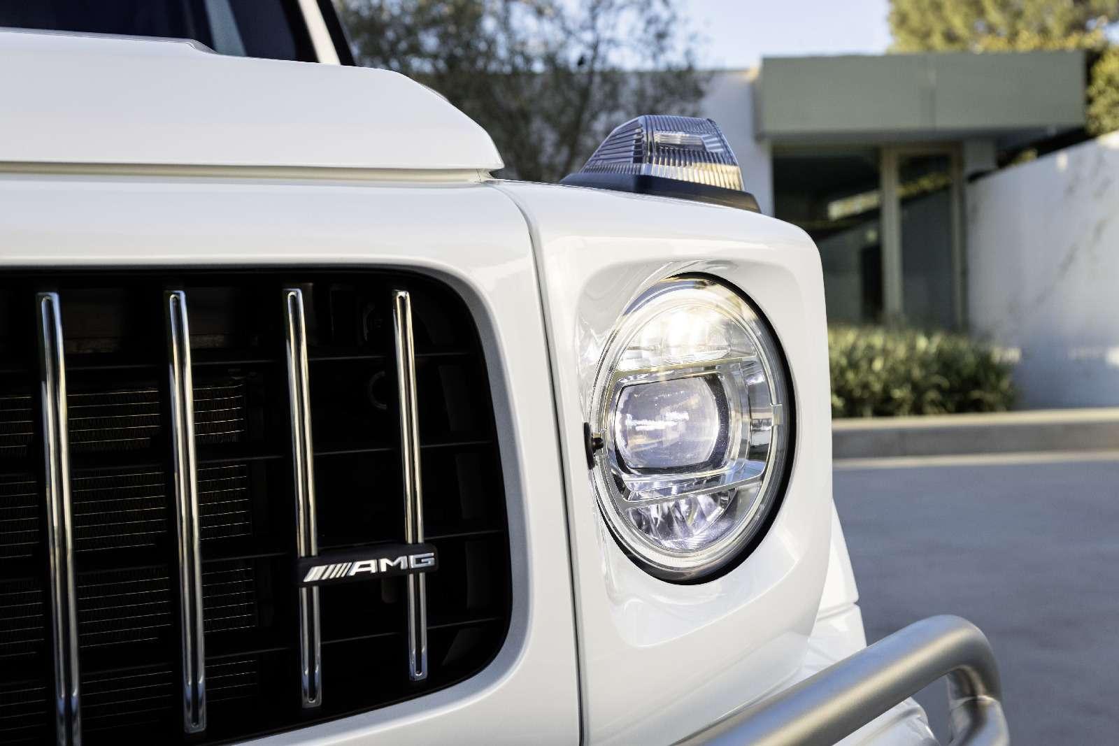 Мажорваген: представлен новый Mercedes-AMG G63— фото 844640