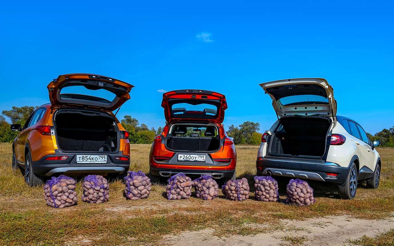 Geely GS, Chery Tiggo 7, Renault Kaptur: большой тест кроссоверов— фото 1012318