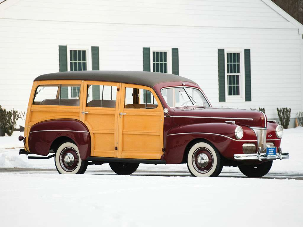 no_copyright_1941 Ford Super DeLuxe Station Wagon