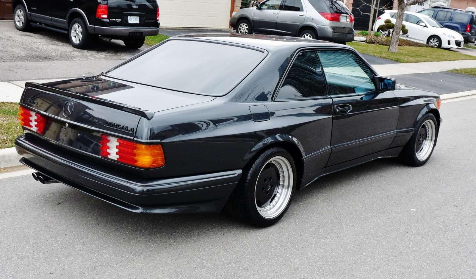 Полцарства законя: божественный Mercedes-Benz 560SEC 6.0AMG борозды неиспортит— фото 680594