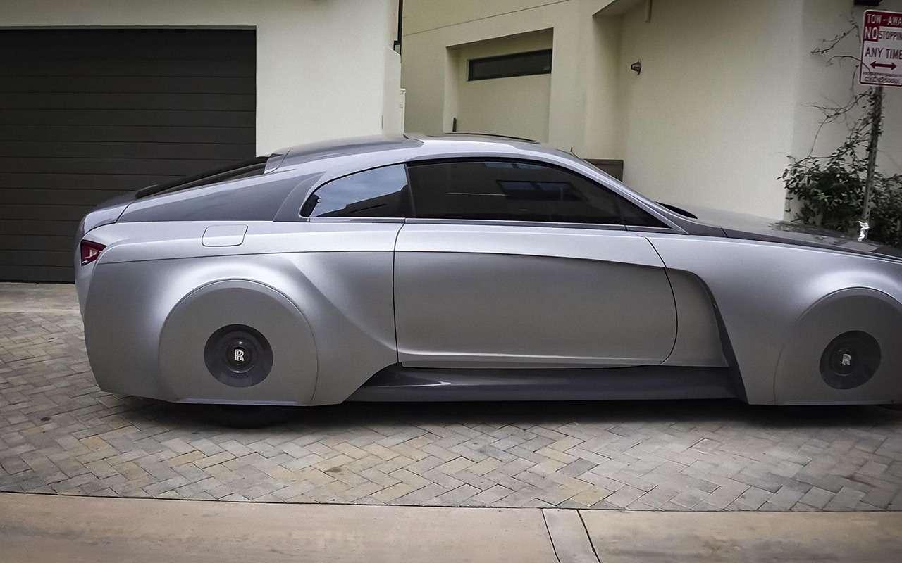 Rolls-Royce: зачто сомной так? Джастин Бибер: Ачене так-то?!