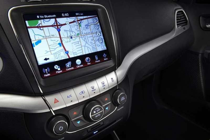Dodge Journey 2011 monitor