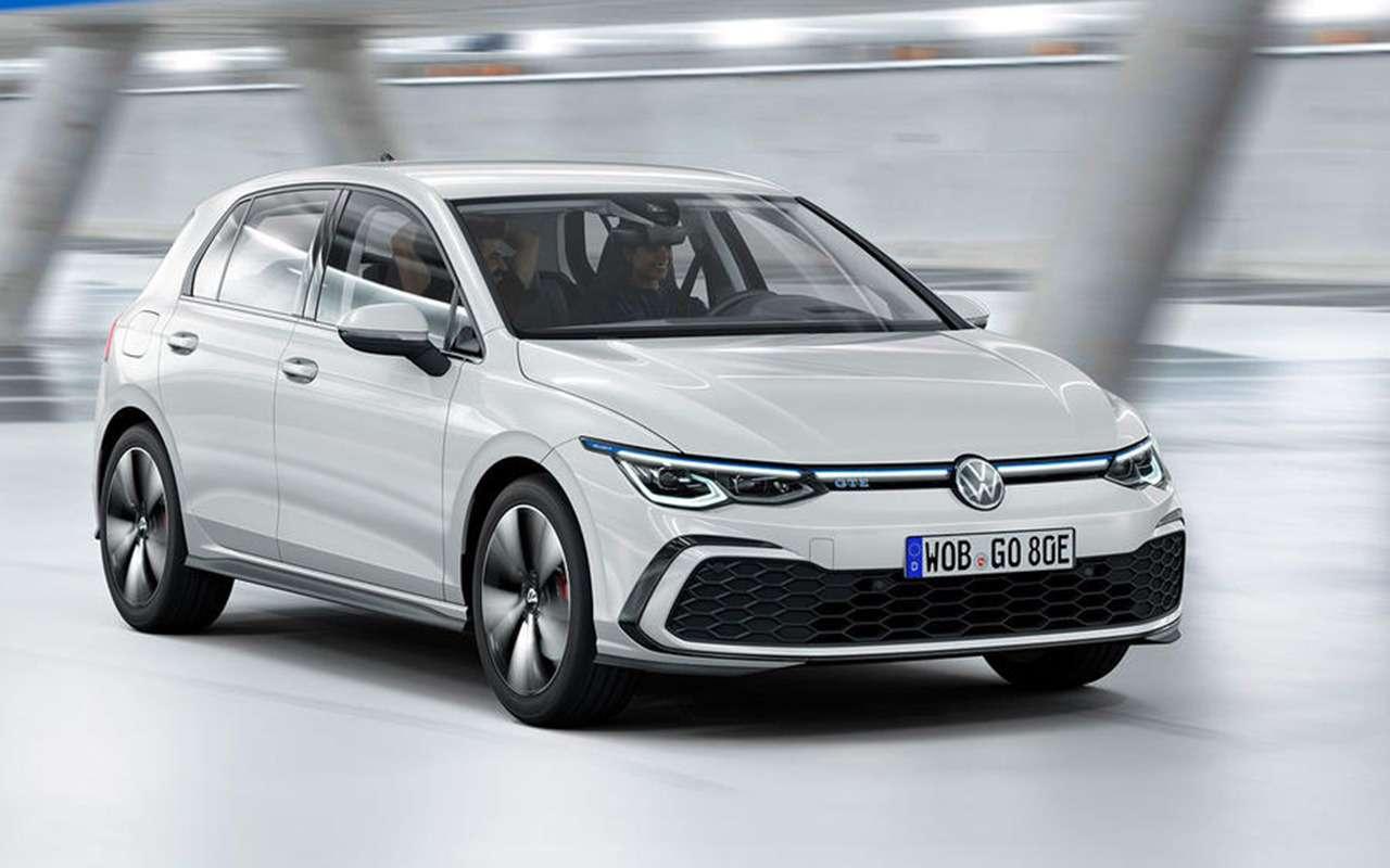 Новый Volkswagen Golf: запланированная «утечка» доофициальной премьеры— фото 1004392