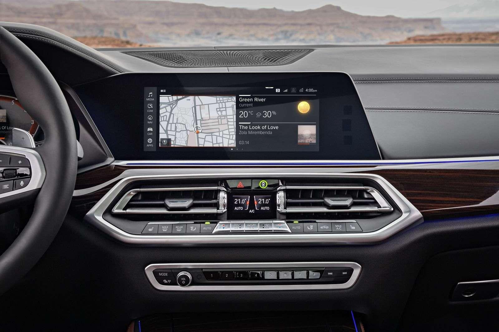 Новый BMW X5: приборная революция!— фото 876646