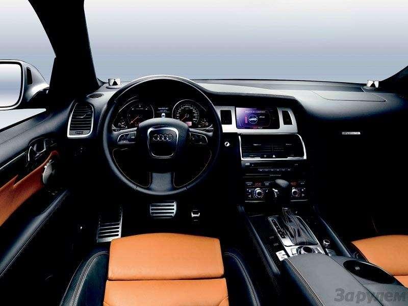 Высший класс Audi Q7V12TDI Quattro: Всё, кроме скромности— фото 91358