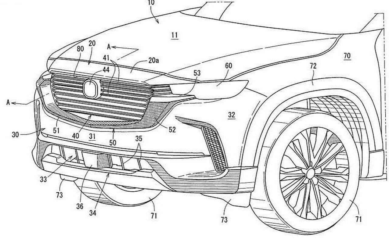 Появились первые изображения Mazda CX-50— фото 1284580