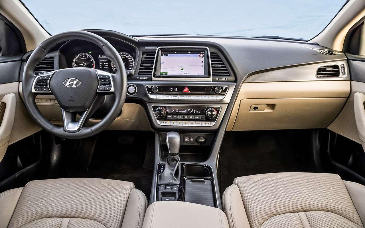 Hyundai Sonata против конкурентов— большой тест ЗР— фото 834873