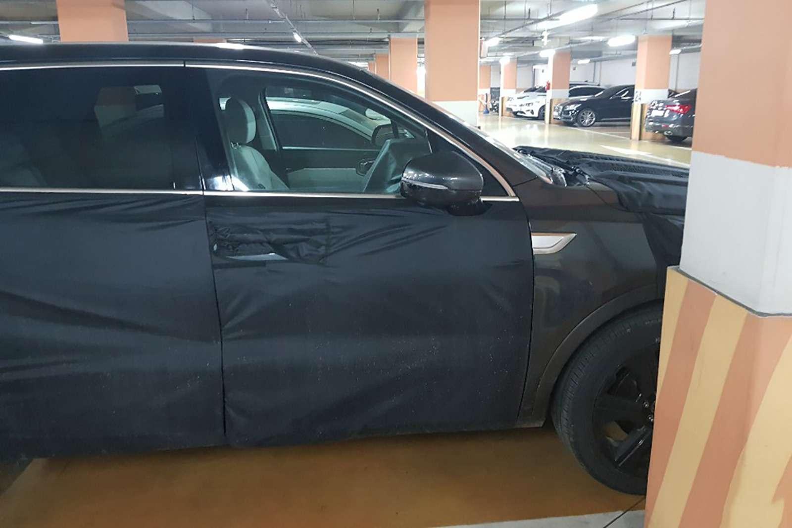 Новый Kia Sorento: первые фото иинформация— фото 956916