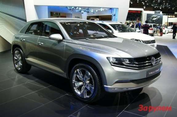Volkswagen Cross Coupe Concept side-front view
