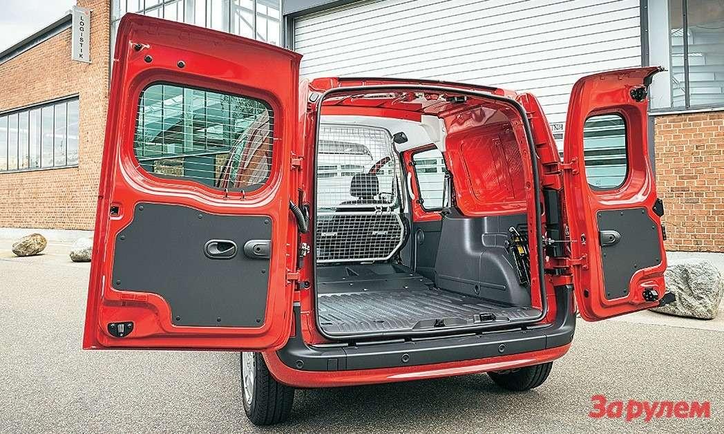 Mercedes-Benz Citan Оснащение разными типами задних дверей— для«каблуков» норма.