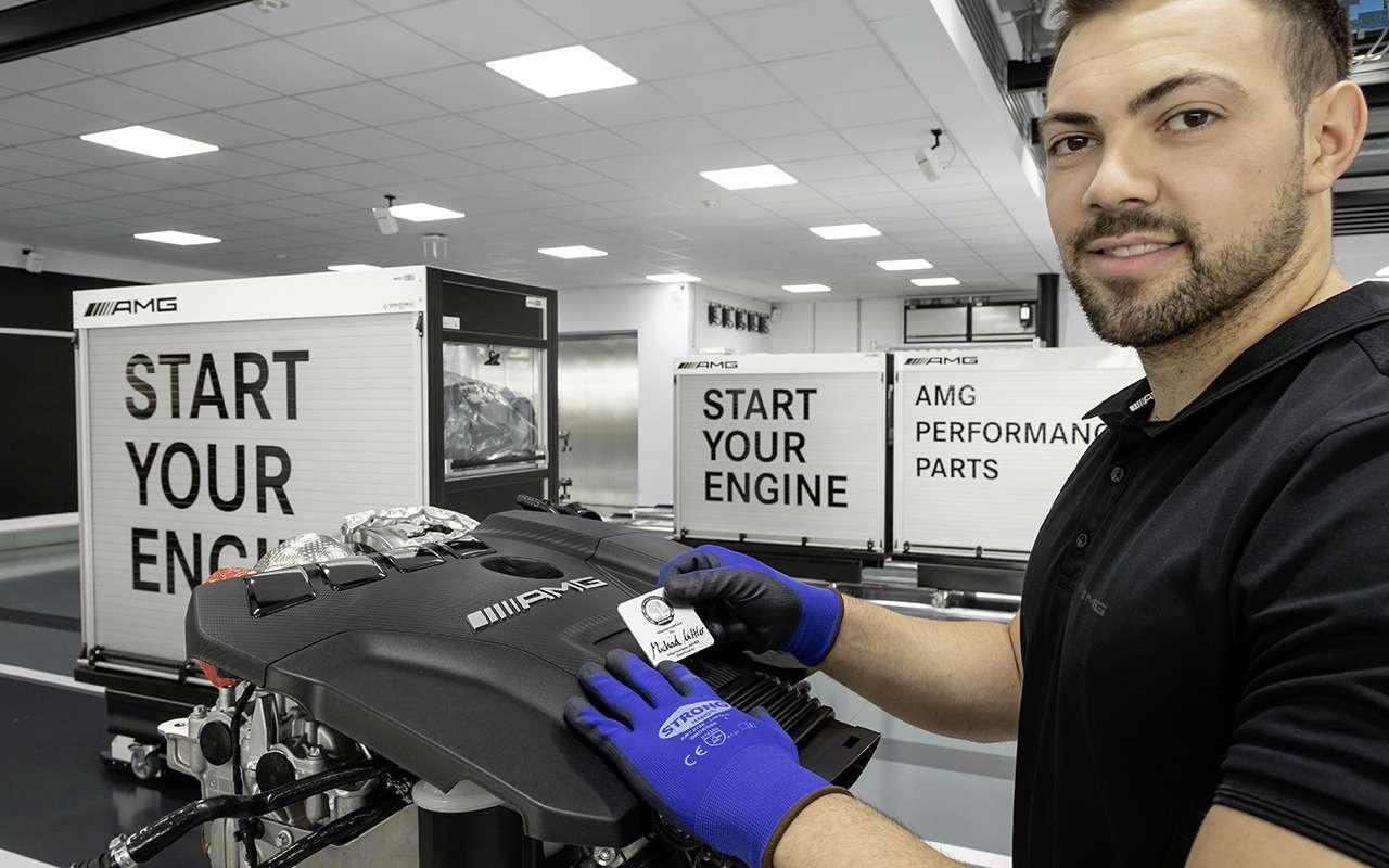 Турбированный двигатель Mercedes-AMG— новые подробности— фото 982773