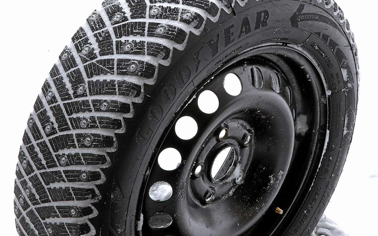 Шипованные шины 185/65R15для бюджетных автомобилей— тест «Зарулем»— фото 794350