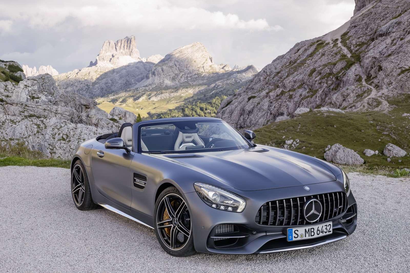 Mercedes-AMG GTRoadster: витамин С— фото 635020