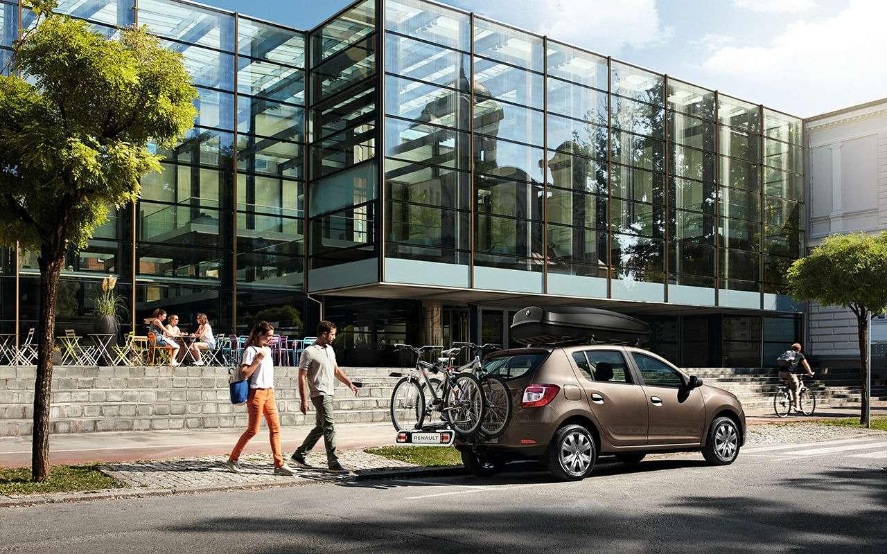 Renault рассказала обобновленных Logan иSandero. Цены уже известны— фото 886067