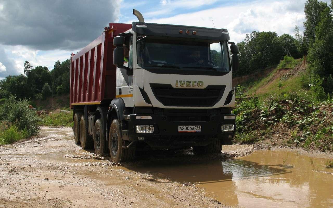 Тяжелые грузовики IVECO Trakker: все особенности— фото 1233422