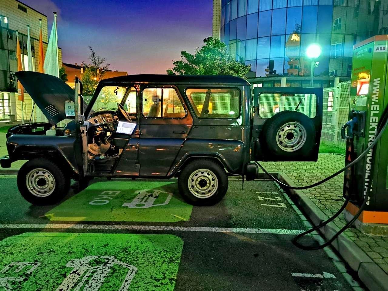 Новая версия УАЗ Хантер— электрическая! НоневРоссии— фото 1087868