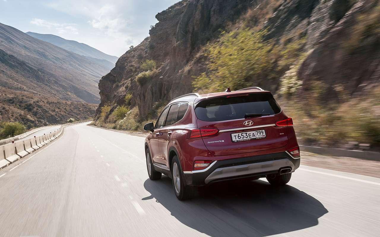 Новый Hyundai Santa Fe: когда дизель лучше бензина— фото 906653
