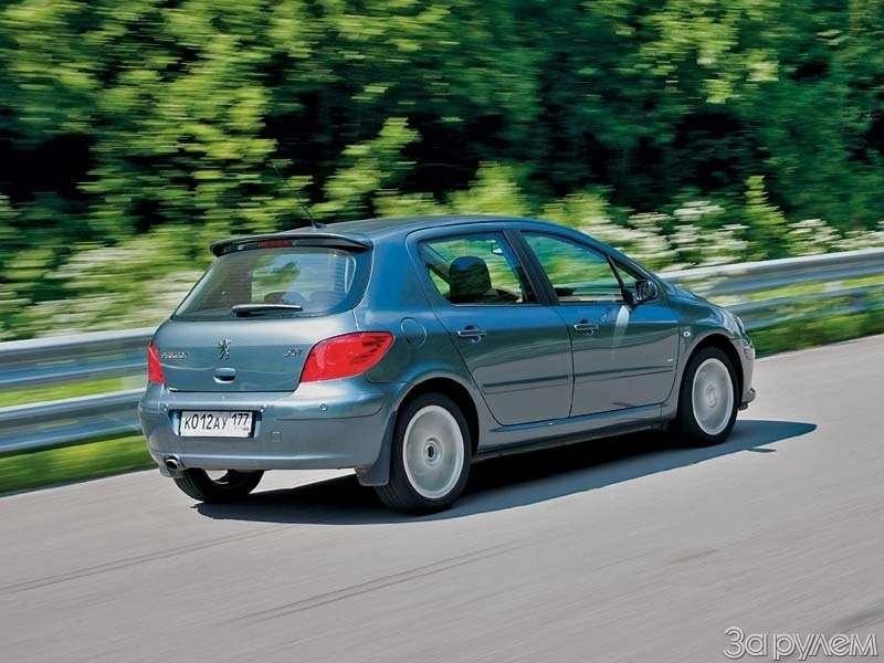 Тест Peugeot 307, Honda Civic. Берегитесь, лентяи!— фото 66537