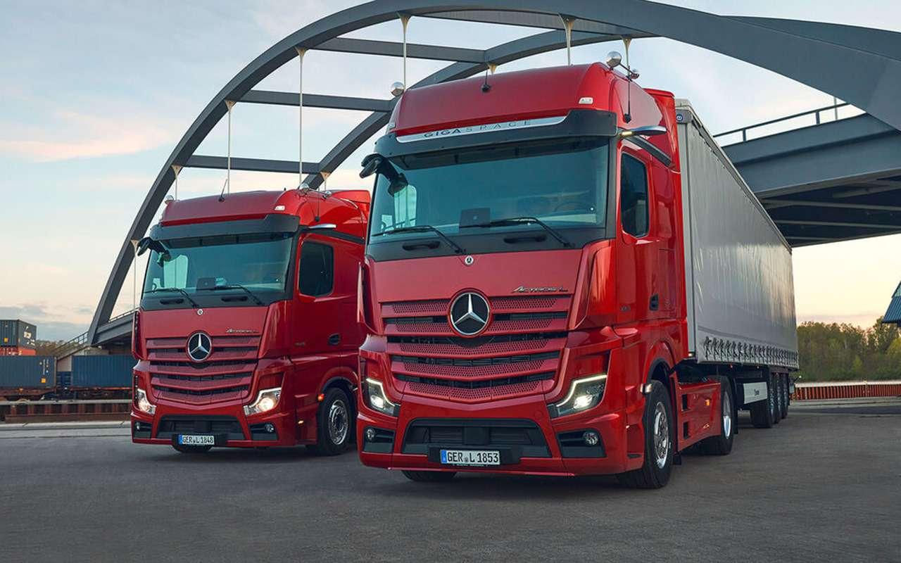 Mercedes выпустил S-класс длядальнобойщиков— фото 1256647
