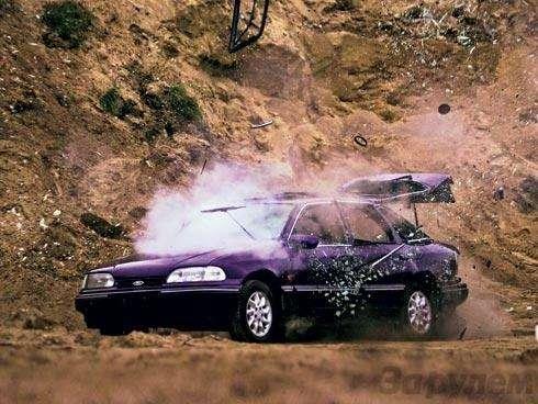 Эксперимент. Безопасен лигаз: Аунас вмашине газ... (ВИДЕО)— фото 90868