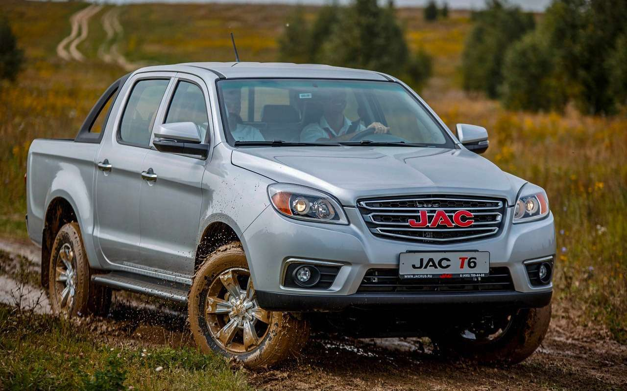 Китайский JAC T6