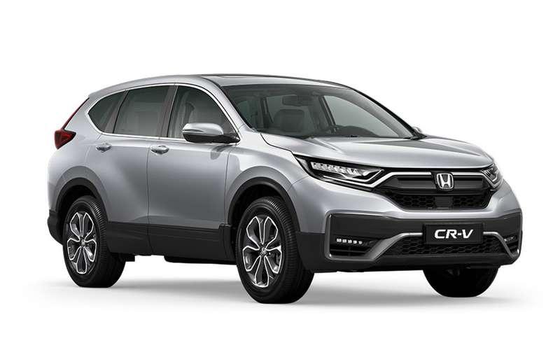 Обновленный Honda CR-V: первые подробности