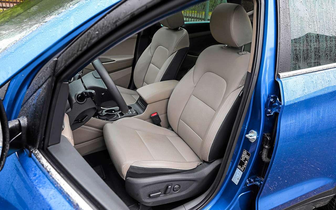 Новый Subaru Forester против конкурентов: большой тест кроссоверов— фото 935691
