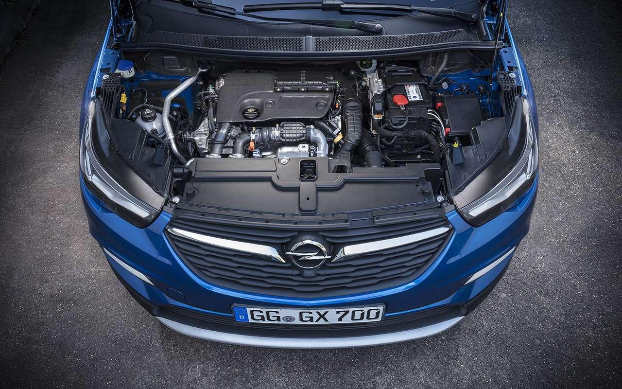 Opel начал продажи Zafira Life иGrandland X— цены известны— фото 1026042