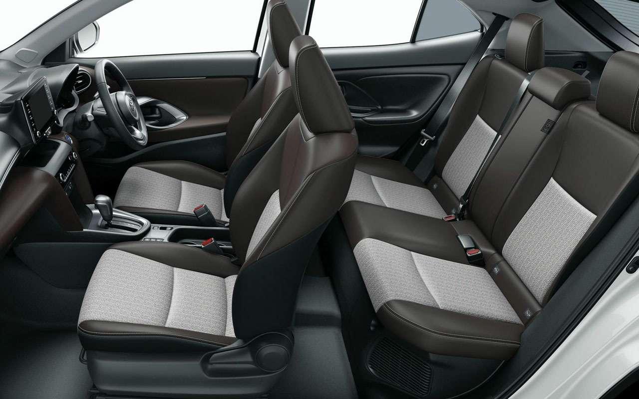Начались продажи Toyota Yaris Cross - от 1,27 млн - фото 1163704