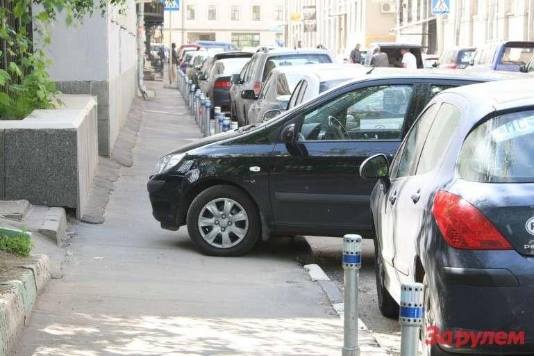 Опубликован список 25улиц сплатной парковкой заграницей ТТК