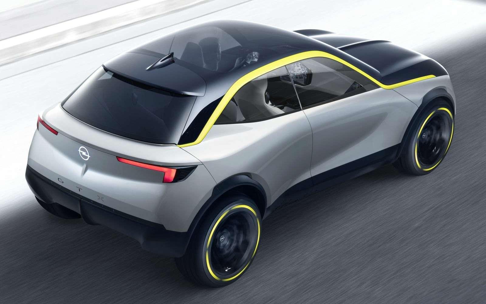 Новый кроссовер Opel: немецкое значит доступное!— фото 897919