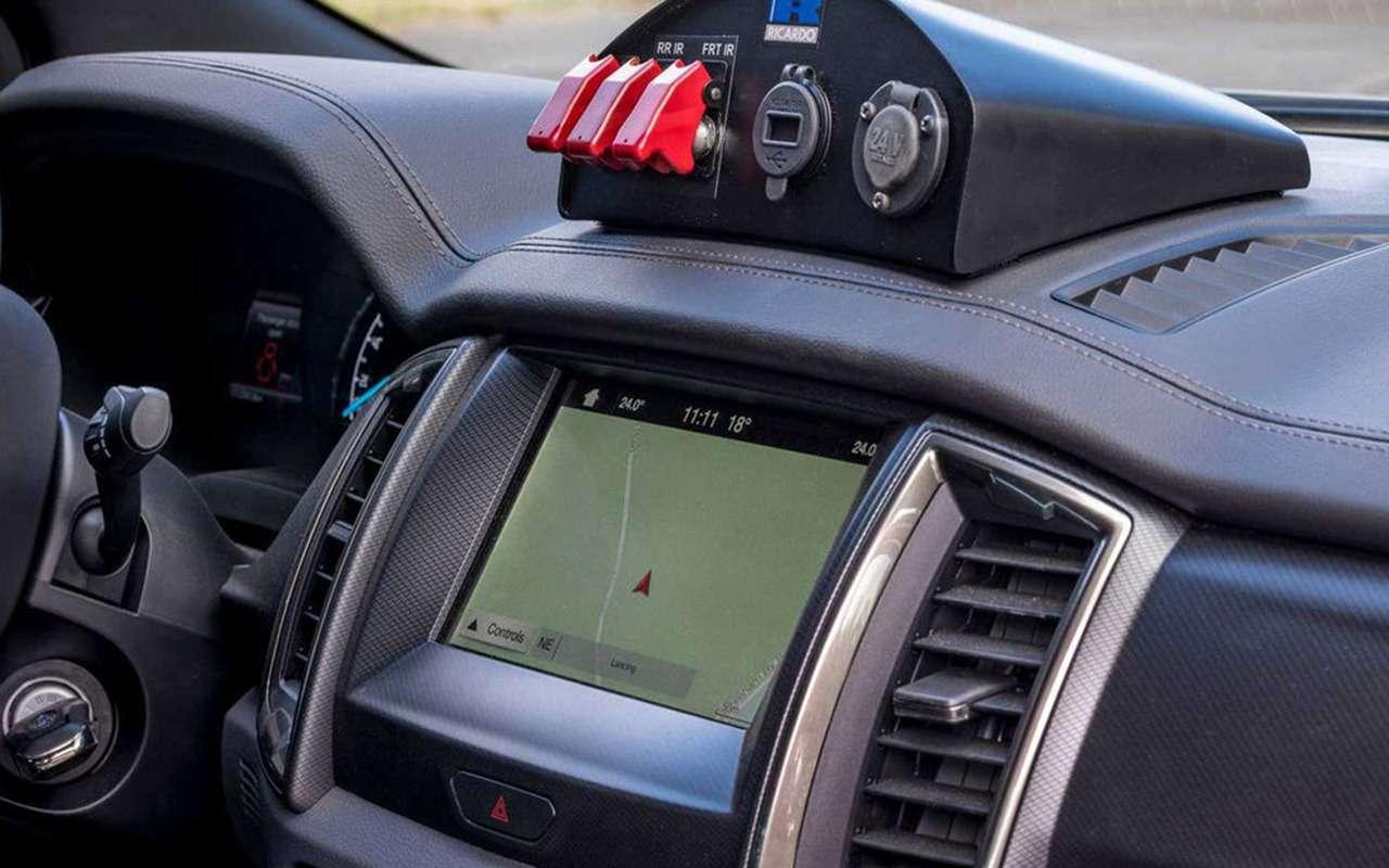 В стиле милитари: Ford Ranger переделали дляармии— фото 1003980